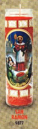 San Ramón Candle