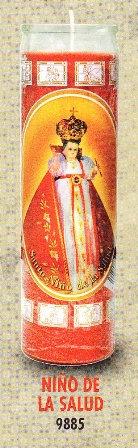 Niño De La Salud Candle