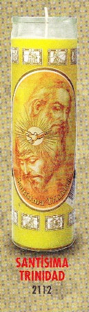 Santísima Trinidad Candle