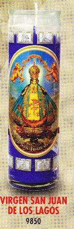 Virgen San Juan De Los Lagos Candle