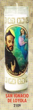 San Ignacio De Loyola Candle