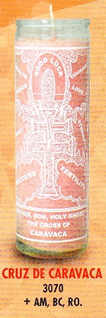 Cruz De Caravaca Candle