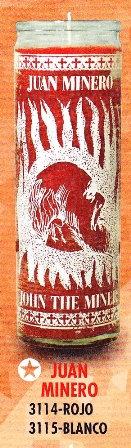Juan Minero Candle