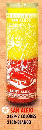 San Alejo Candle