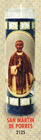 San Martín De Porres Candle