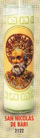 San Nicolás De Bari Candle