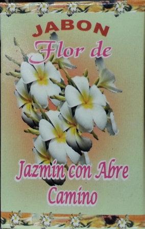 Jabon Flor de Jazmin Con Abre Camino