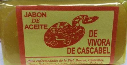 Jabon de Aceite de Vivora de Cascabel