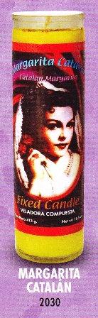 Margarita Catalán Candle