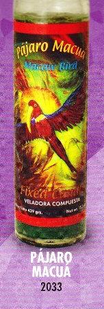 Pájaro Macua Candle