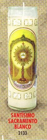 Santísimo Sacramento Candle