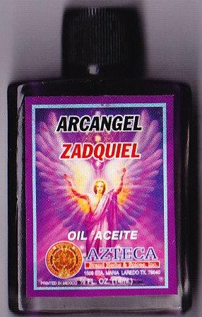 Arcangel Zadquiel Oil