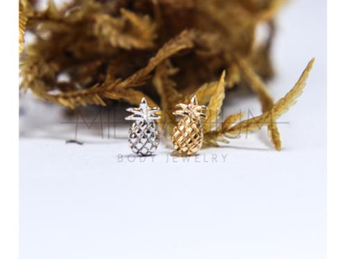 Topo Abacaxi de Ouro - Junipurr