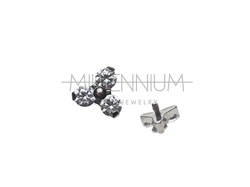 Topo Mini Trinity com cristais