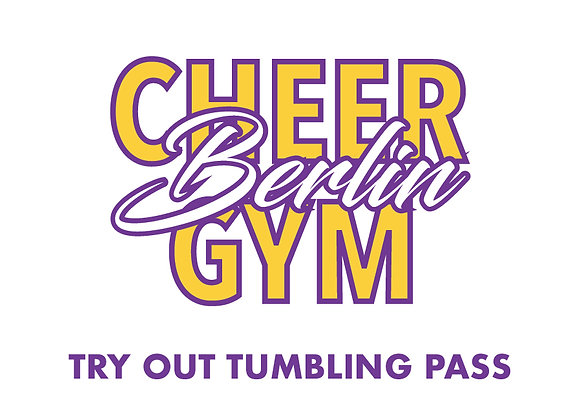 TRY OUT TUMBLING PASS