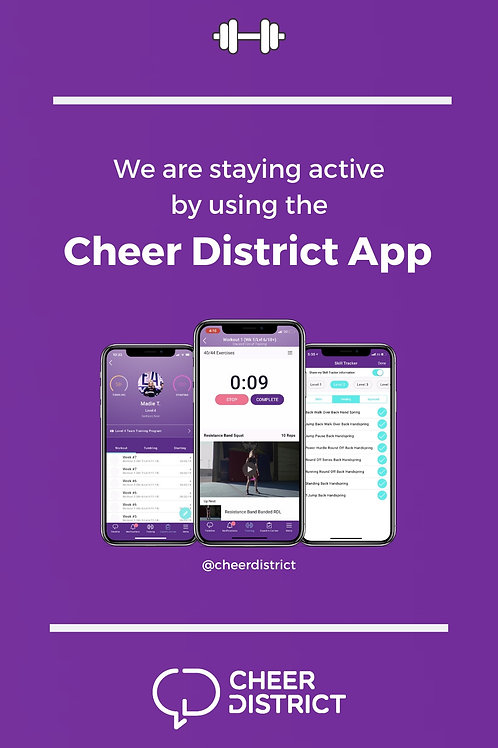 CHEER DISTRICT APP