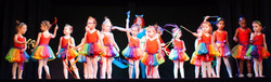 Rainbow dancers from My Little Pony