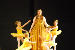 Beauty and the Beast ballerinas