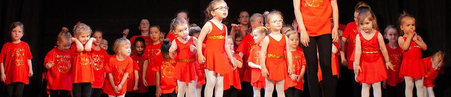 Surrey Performing Arts cast