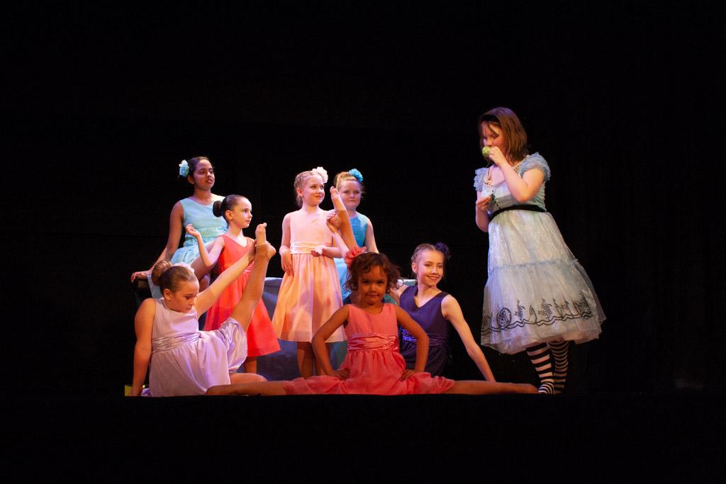 Alice in Wonderland modern dance