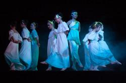 Classical Greek dancers