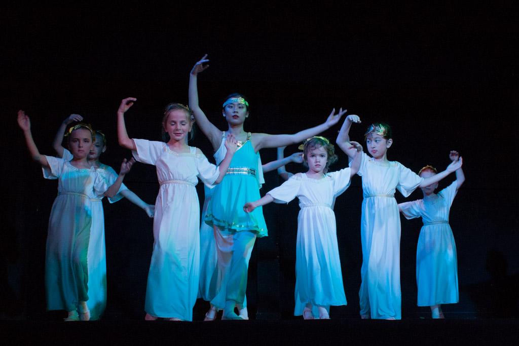 Classical Greek group dance