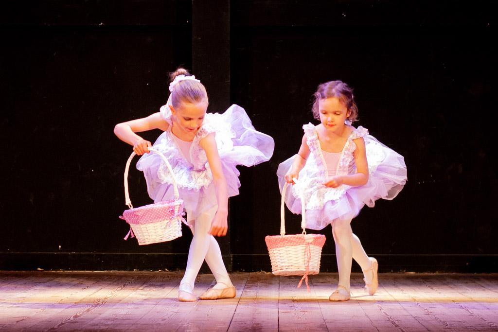 Ballerinas dancing the Nutcracker