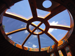 Yurt tono (or ceiling)