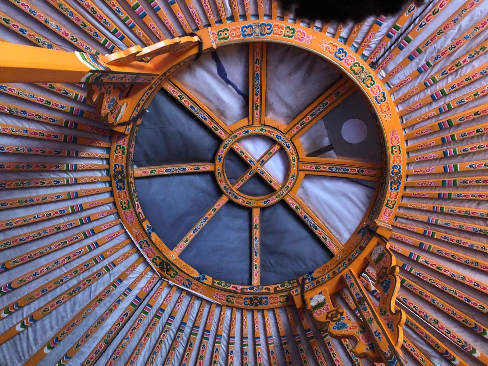 Yurt tono (ceiling)