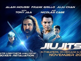 NEW TRAILER | 'Jiu-Jitsu' Pits Nicolas Cage Against Aliens In Totally Badass Trailer