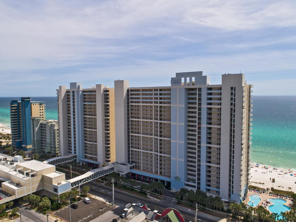 Majestic-Towers-Panama-City-Beach-Stucco