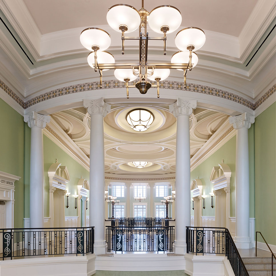 Decorative Interior Plaster Gaillard Center