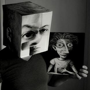 Cel - fi and a Self portrait