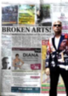 stephen Calcutt new article called broken arts