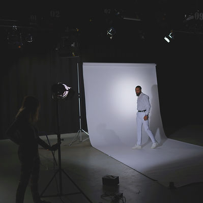 Stephen Calcutt created a story for his artwear that was filmed to create an advert. This is the beggining of the story where the person is in an anxiuos depressed state They are wearing all white  prior to wearing the Jacket of Vandalism