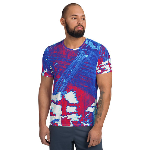 Fragmented Jack  Athletic T-shirt