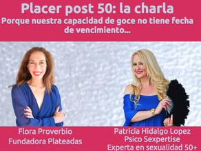 PLACER 50+: Nuestra sexualidad no tiene fecha de vencimiento