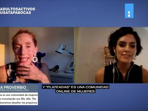 Charlando sobre PLATEADAS con Flor Fedeli de Adultos Activos