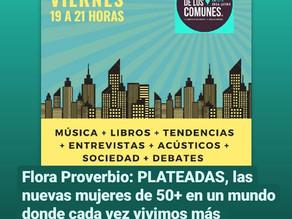 """Hablé en """"Los Comunes Radio"""" sobre PLATEADAS"""