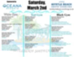 Coastal Classic Saturday Schedule 2019 w