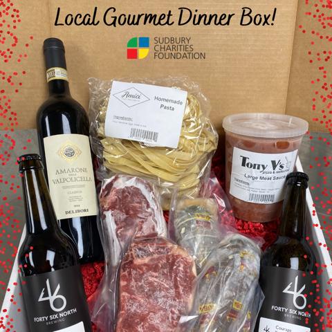 Gourmet Dinner in a box