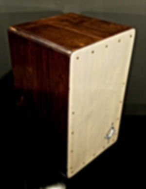 hand crafted cajon by Emil Gatone