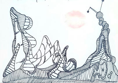 Oil pinting by Emil Gatone
