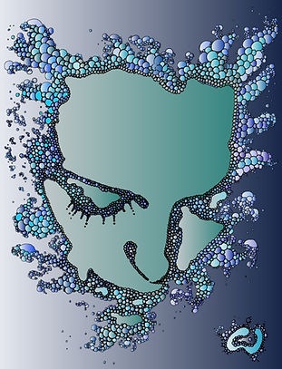 Digital drawing by Emil Gatone of Lisa Cornely