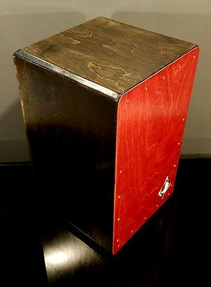 hand crafted cajon by Emil Gatone