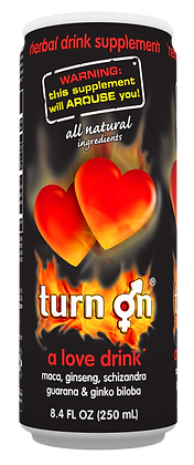 1 Case of TURN ON® (24 Cans)