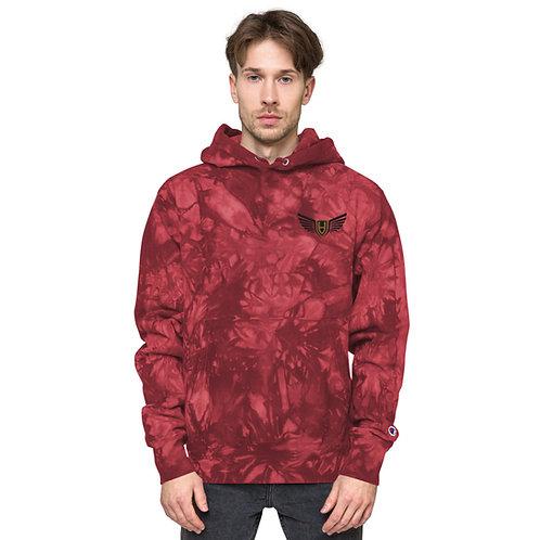 Unisex Hord Inc Champion tie-dye hoodie