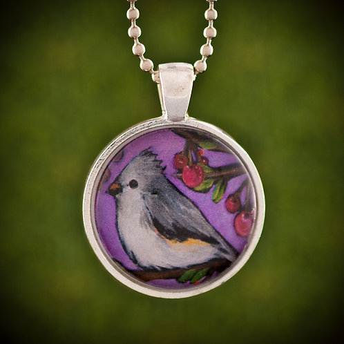 Titmouse on Lilac