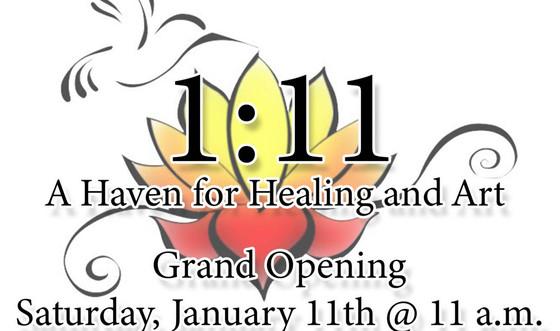 Grand Opening Saturday January 11