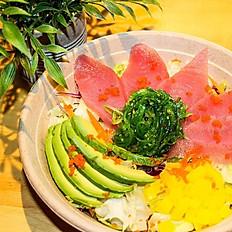 Salmon or Tuna Sushi Bowl